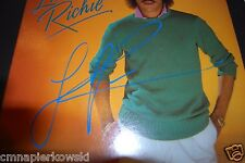 Linonel Richie signed Vinyl LP autographed in person.