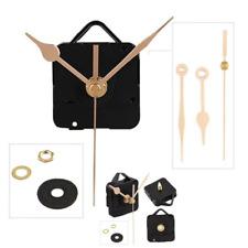 Battery Wall Clock Movement Mechanism Gold Hands Quartz Replacement Clock Parts