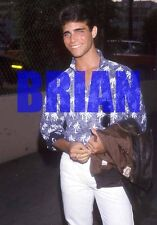BRIAN BLOOM #5,CANDID PHOTO closeup,AS THE WORLD TURNS,bandit,MELROSE PLACE