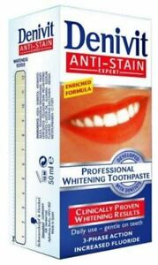 Denivit Intensive Stain Removal Professional Whitening Toothpaste 50 ml