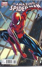 2014 AMAZING SPIDER-MAN #1 J SCOTT CAMPBELL VARIANT COVER + UNUSED DIGITAL CODE!