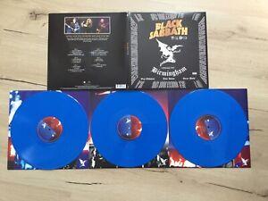 """BLACK SABBATH THE END BIRMINGHAM 3 X 12 """" LP BLAUE 3 FACH VINYL SCHALLPLATTEN"""
