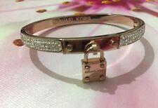 Michael Kors Bracelet Bangle Padlock Rosegold