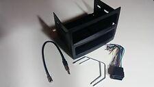 VY / VZ COMMODORE Car Radio Stereo SINGLE DIN BLACK Fascia Complete install Kit