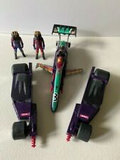 M.A.S.K. Buzzard race vehicle toy - 100% Complete w Max and Miles Mayhem figures