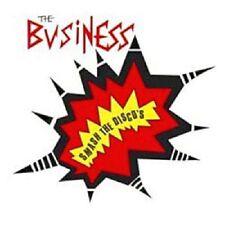 The Business Smash The Disco's CD+Bonus Tracks NEW SEALED Punk Oi! Skinhead