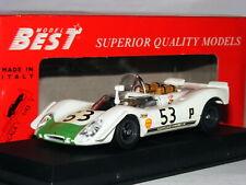 Best 9042 Porsche 908/2 1969 Brands Hatch 6 Hours #53 1/43