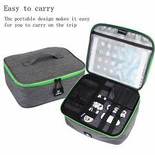 Portable Universal Electronics Accessories Travel Organizer Data Power Cord Bag