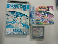 Sonic the hedgehog 2 - SEGA Game Gear - GG Completo