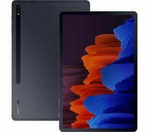 """Samsung Galaxy Tab S7 SM-T878U 128GB, Wi-Fi + 5G (AT&T Unlocked), 11"""" - Black"""