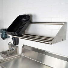 "42"" Tubular Rack Wall Mounted Shelf 