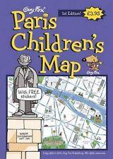 Guy Fox Paris Children's Map Map