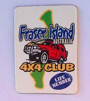 Fraser Island 4WD Club Life Member Australia Souvenir Magnet Vintage (R11)
