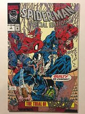 Spider-Man Special Edition #1 Trial of Venom NM+ Marvel 1992 BEAUTIFUL COPY