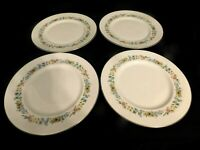 H2- Royal Doulton England Bone China Pastorale Dinner Plates Lot of 4