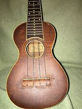 VINTAGE Oscar Schmidt 1920's HAWAIAN KOA UKULELE BEAUTIFUL Look and Tone!