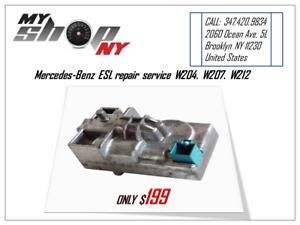 Mercedes-benz C300 Electonic Steering Lock ESL repair service W204. W207. W212
