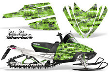 AMR Racing Arctic Cat M Series Snowmobile Graphic Kit Sled Wrap Decals SSSH GRN