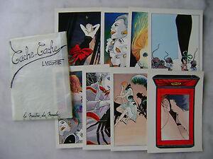 VICOMTE - Cache-cache - Portfolio 8 cartes postales - Le maître du monde