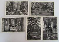 Postkarten Lot mit 5 alten Postkarten ARENBERG Ansichtskarten ~1930/40 ungelauf.