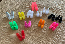 New ListingVintage Clone Barbie Sized Lot Of Mixed Shoes
