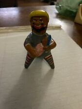 Hand Crafted Purepecha MEXICO Figurine - Peasant Holding Infant