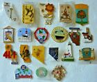 Lions Club Pins -  Assortment of 20 Lions Club Pins from throughout the U.S.
