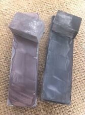 SET OF 2  NATURAL FINE RZOR HONE  SHARPENING STONE FINE BLADE ~