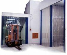 2.5m (w) x 2.25m (d) - PVC Strip Curtain / Door Strip Kit - 200mm x 2mm Strips