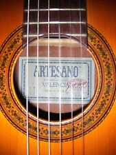 1987 Artesano #40 Classical Guitar Revised By Juan Orozco w/ Hard Case Xlnt Cond