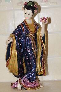 Jay Strongwater Chinoiserie Mei Li Ming Geisha Femme Figurine Ltd 250