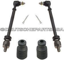Porsche 928 GT 928S 928GTS 928S4 Steering Tie Rods + Boots 928 347 033 07 Kit 4