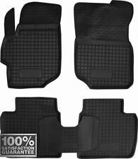 Rubber Carmats for Peugeot 301 2012-2016 All Weather Floor Mat