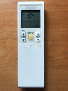 GENUINE Daikin FTXS35LVMA, FTXS46LVMA FTXS50LVMA Air Conditioner Remote Control