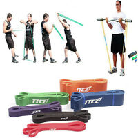 Yoga Resistance Bands Training Loop Crossfit Elastic Fitness Rally Ring Exercise