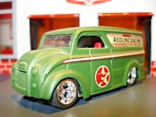 """DIVCO DAIRY DELIVER TRUCK LIMITED EDITION 1/64 """"REDLINE RACING"""" HOT WHEELS"""