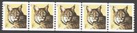 US. 4802. 1c.  Bobcat. Coil PNC5 #S111111. Mint. NH. 2013