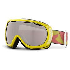 Women's Giro Amulet Goggles Ski Snow Snowboard Bright Yellow Frames Rose Silver