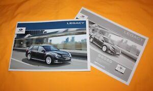 Subaru Legacy 2012 Prospekt Brochure Depliant Folder Catalog Folder Prospetto