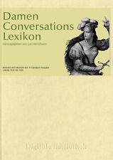 Damen Conversations Lexikon - Herloßsohn Carl (herausgeber)