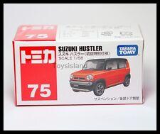 TOMICA #75 SUZUKI HUSTLER 1/58 TOMY RED 2014 OCT NEW MODEL DIECAST CAR