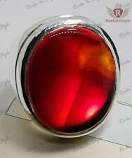 Natural Red Carnelian العقيق الأحمر Everyday Use Sterling Silver Ring All Sizes