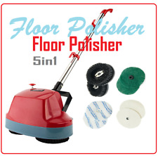 5in1 Floor Cleaner Machine Hardwood Polisher Scrubber Wash Carpet Tile Concrete