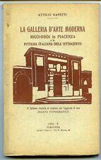 La Galleria d'arte moderna Ricci-Oddi in Piacenza e la pittura italiana dell'ott
