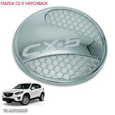 Fit Mazda Hatchback Cx5 Cx-5 2013 2014 2015 2016 Chrome Oil Fuel Cap Door Cover