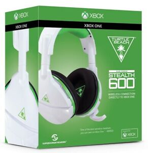 Turtle Beach Stealth 600 Gaming Headset - White/Green