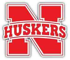 "Nebraska Cornhuskers College NCAA Car Bumper Vinyl Sticker Decal 4.6""X4.6"""