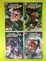 Amazing Spider-Man 698-700 699 699.1 1st Prints Marvel NM 9.4