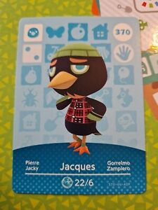 Animal Crossing Amiibo Jacques 370