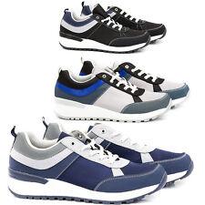 Scarpe Uomo Sneakers Pelle PU Casual Francesine Mocassini Ginnastica Sportive S9